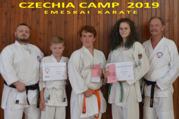 CZECHIA CAMP 2019 Emeskai karate